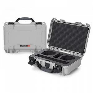 NANUK - Odolný foto kufr model 909 DJI Osmo Action - stříbrná