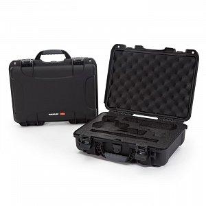 NANUK - Odolný kufr model 910 2UP Classic Pistol - černá
