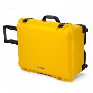 NANUK - Odolný cestovní kufr model 950 - žlutý